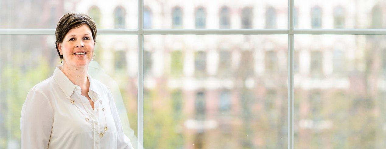 Sara Negrén, medicinskt ansvarig sjuksköterska (MAS) på strategiska utvecklingsavdelningen.