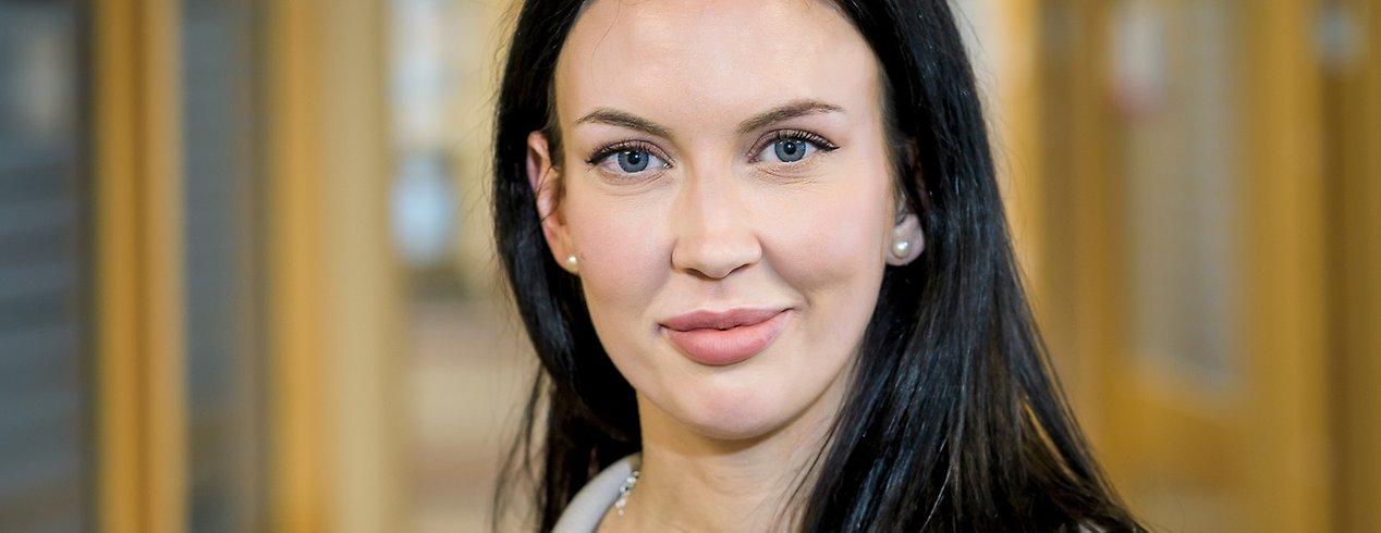 Alice Brolin är en av tolv biståndshandläggare som har blivit diplomerad Silviahandläggare.