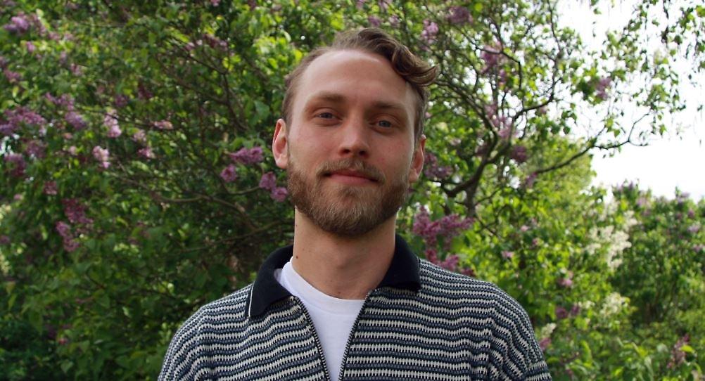 Porträttfoto på Fabian.