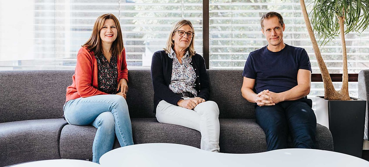 Slavica Rankic, Maj-Lis Werner och Berne Forzelius har snabbt lyckats sy ihop Äldreomsorgslyftet för Malmö.
