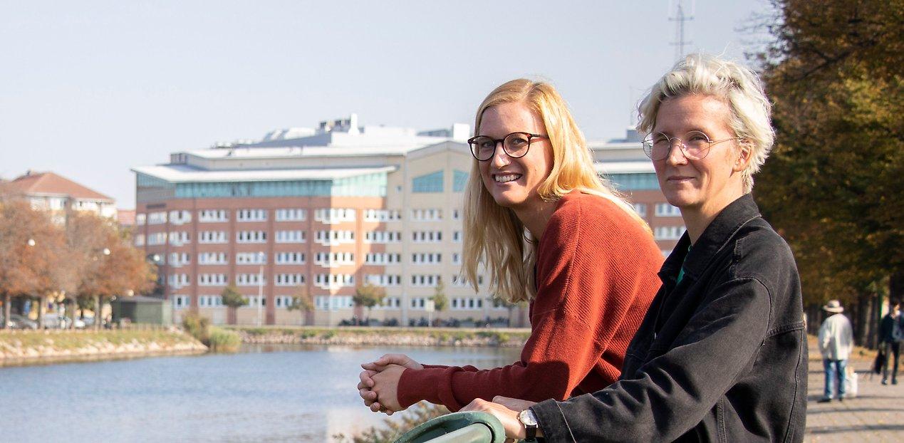 Jennie Ekwall och Katarina Ek